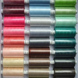 Photography of Coats Moon 120 Spun Polyester Sewing Thread