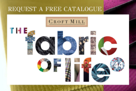 Request a free catalogue - Croft Mill Dress and Craft Fabrics