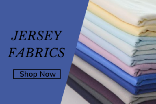 Jersey fabrics and materials online Croft Mill UK