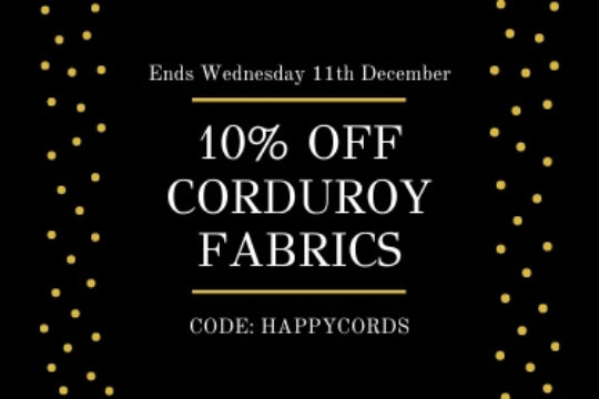Corduroy fabric sale discount
