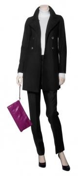 Black Woollen Coat and Trousers