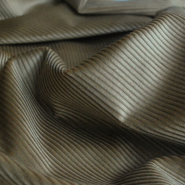 Corduroy fabric_cotton_antique gold_cu