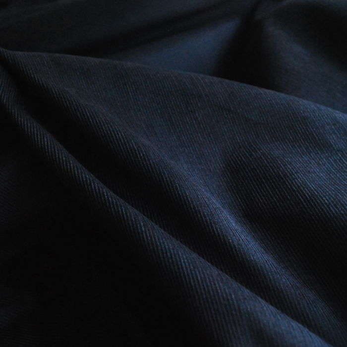 Corduroy fabric cotton black