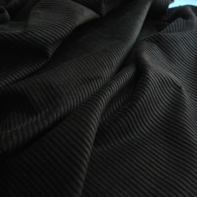 Corduroy fabric_cotton_dark brown