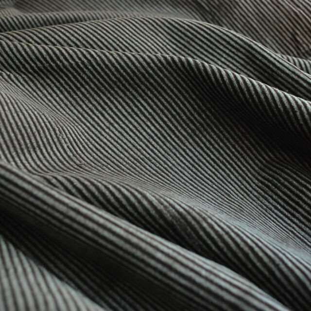 Corduroy fabric_cotton_distressed brown