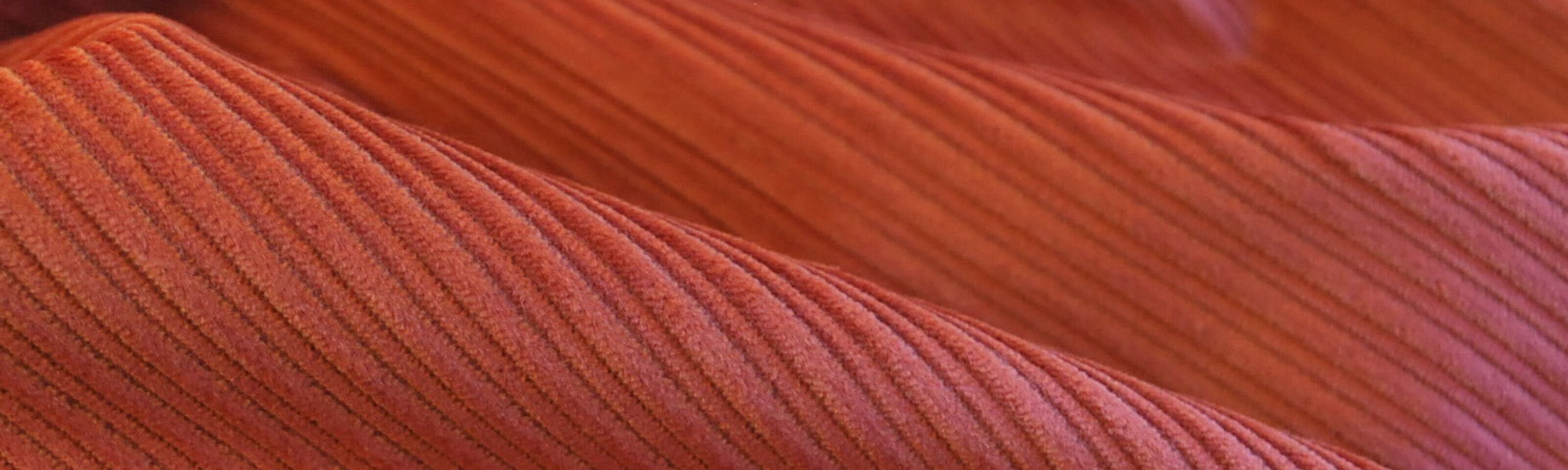 Corduroy fabric_cotton_pale rust_cu