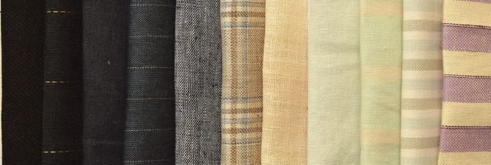 Group Photo - Linen - Plain, Striped And Checked