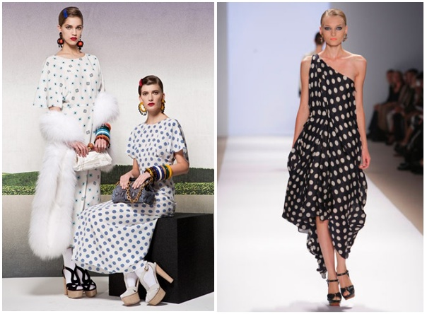 Left - Prada Resort Collection Right - Rubin Singer's Voyage Collection