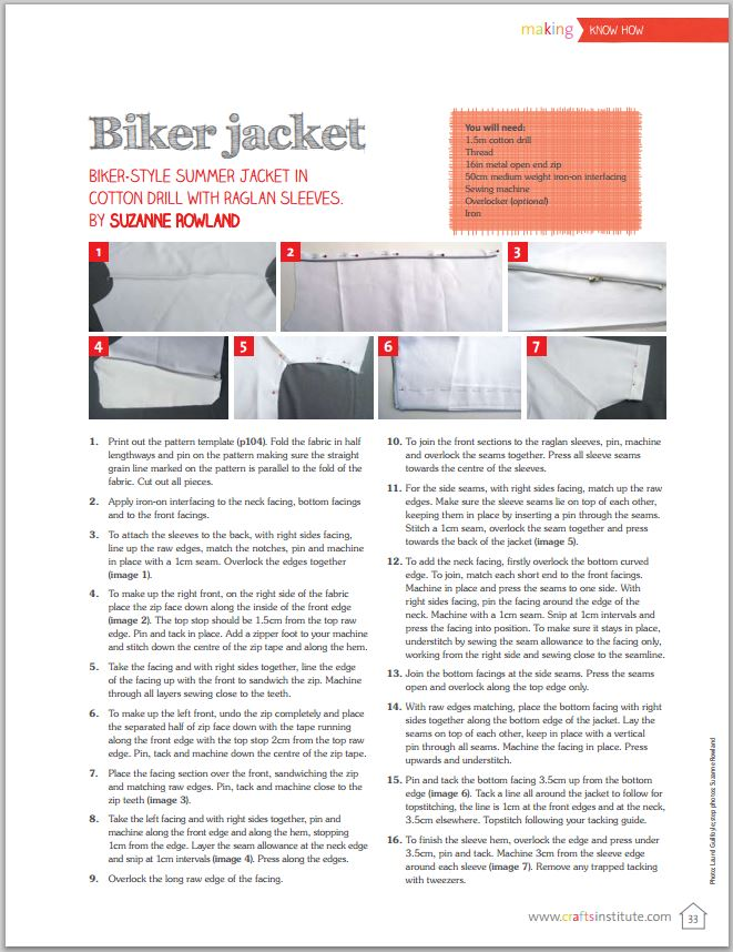 Making Magazine_Biker Jacket_Page 2