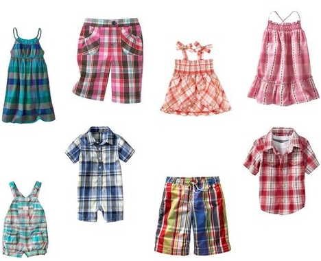 Children Look Great In Plaids