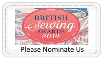 Sewing Awards 2014 Nominate Us Please