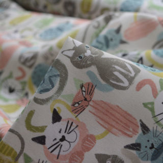 Photography of Cotton Poplin - Cats