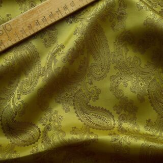 Photography of Paisley Changeant Linings - Mustard