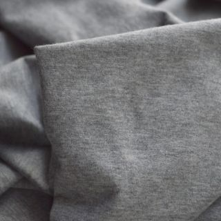 Photography of Cotton Jersey - Marl Grey