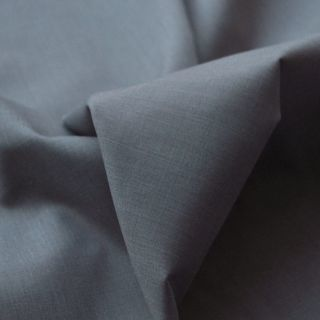 Photography of Superior Quality Plain Poly/Cotton - Silver Marl Grey