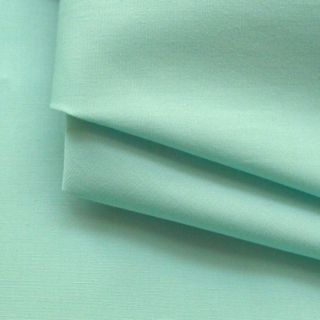 Photography of Plain Dyed Cotton Poplin - Aqua
