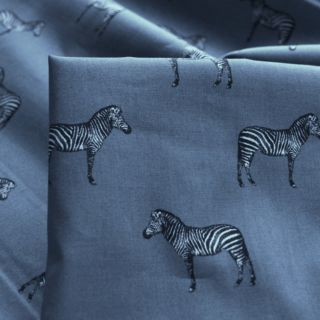 Photography of Sewing Room - Zebra - Steel Grey