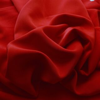 Photography of Superior Satin Crepe - Red