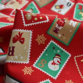 Photography of Set Piece - Christmas Cotton - Stamp 1.5m