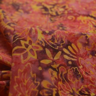 Photography of Indonesian Batik - Autumn