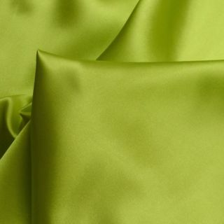 Photography of Set Piece - Budget Satin - Lime 1.5m
