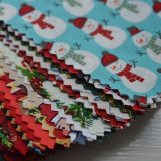 Photography of Bundles - Christmas Sample Cotton SMALL Pack