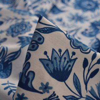 Photography of Clothworks - Blue Porcelain