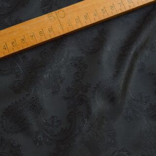 Photography of Paisley Changeant Linings B - Black/Black