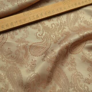 Photography of Paisley Changeant Linings B - Gold/Beige