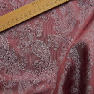 Photography of Paisley Changeant Linings B - Pink/Rose