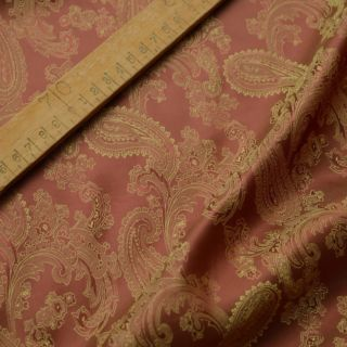 Photography of SET PIECE 2.1M Paisley Changeant Linings B - Rust/Gold
