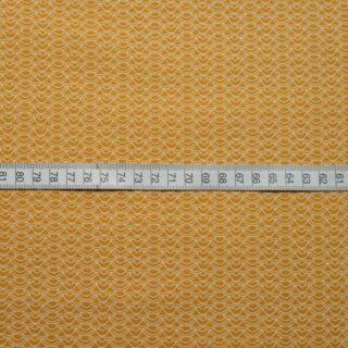 Photography of Set Piece - Craft Cotton - Japanese Waves - Mustard 1.3m