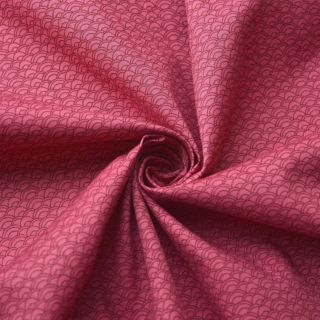 Photography of Craft Cotton - Japanese Waves - Rose Pink