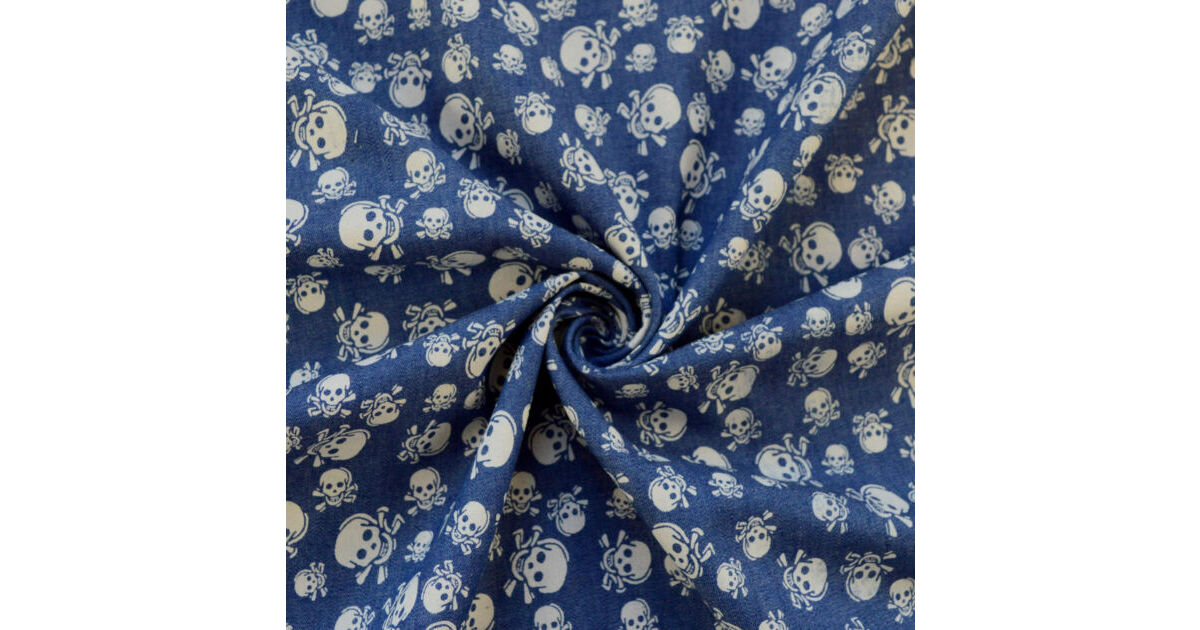 Photography of Denim - Heavenly - Skull & Bones