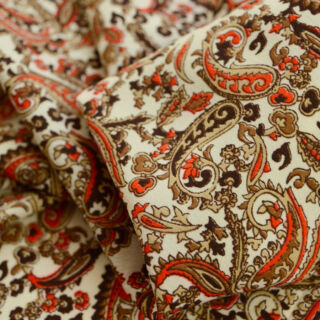 Photography of Vintage Paisley - Orange & Brown