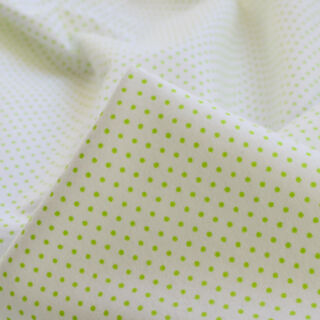 Photography of Winceyette - Green Polka