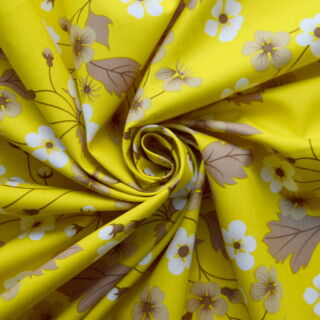 Photography of Poplin Prints - Felicity- Mustard