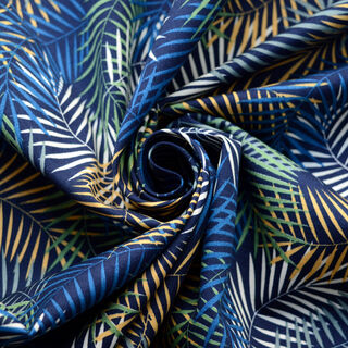 Photography of Poplin Prints - Palm Beach - Navy