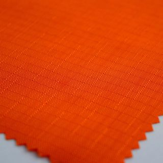 Photography of Water Resistant Linen Slub - Flame Orange