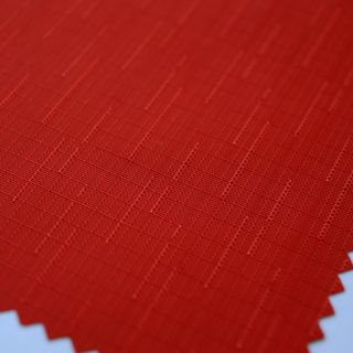 Photography of Water Resistant Linen Slub - Red