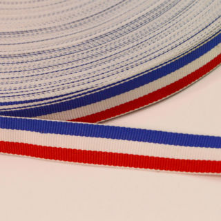 Photography of 15mm Red, White & Royal Blue Stripe Craft Tape