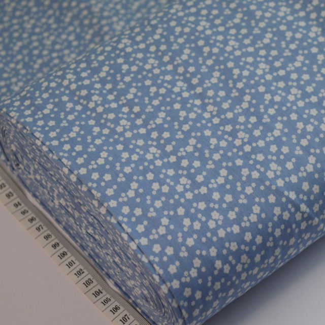 Denim Chambray Fabric Per Meter 4oz Pink