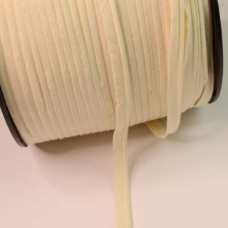 Photography of Flanged 2mm Cotton Insert Piping Cord - Cream