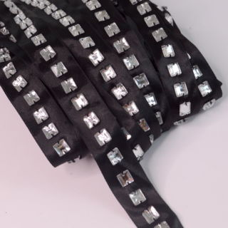 Photography of Satin Diamante Black Tape