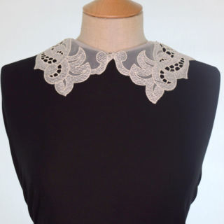 Photography of Downton Abbey - Vintage Lace - Collar