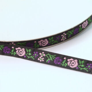 Photography of Floral Embroidered Pattern Tape/Ribbon