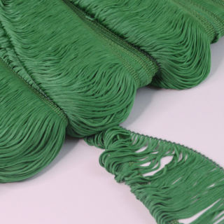 Photography of Loop Fringe Trim - Green