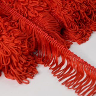 Photography of Loop Fringe Trim - Red