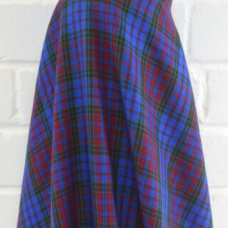 Photography of Brushed Tartan
