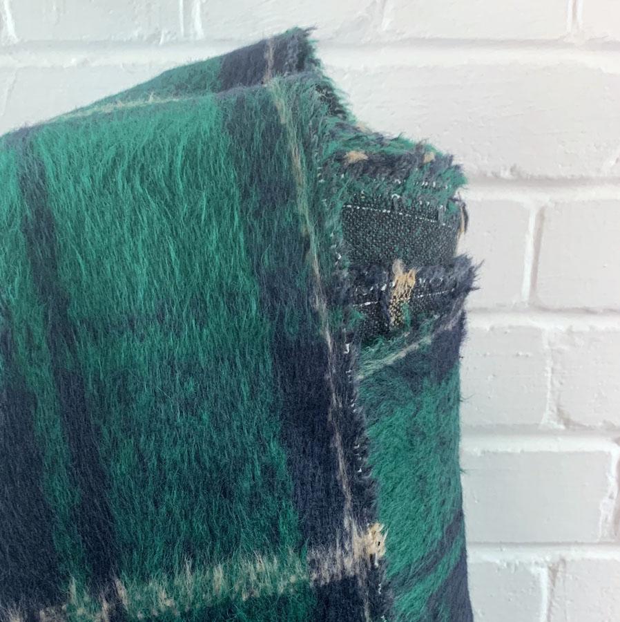 Brushed Polyester Wool Coating